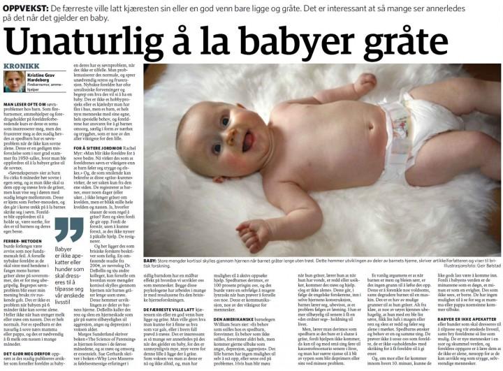 Kronikk Dagbladet - faksimilie